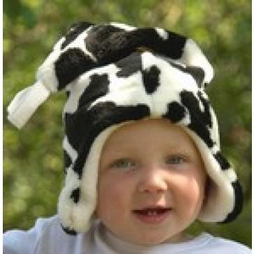 "Buggysnuggle Cow ""Fur"" Pointy hat"