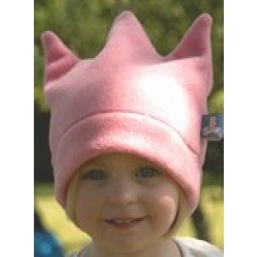 BuggySnuggle Fleece Crown Hat - Candy Pink