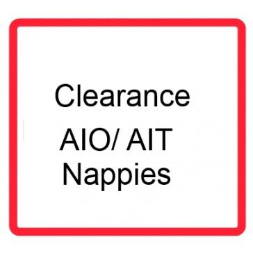 Clearance AIO/AI2 nappies