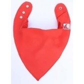 Bandana Bib Large Red