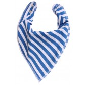 DryBib Bandana Bib - French Blue Stripes