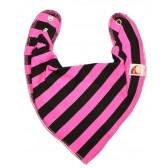 Pink & Black Stripe