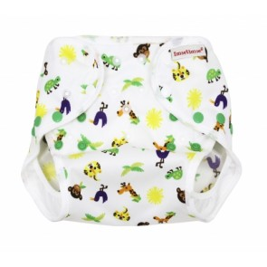 Imse Vimse Smart Nappy Wrap Cover Small Zoo Old Style