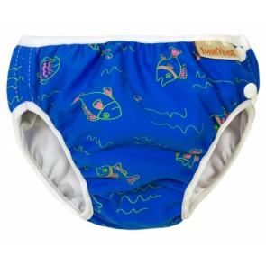 Imse Vimse swim nappy Blue Fish Small