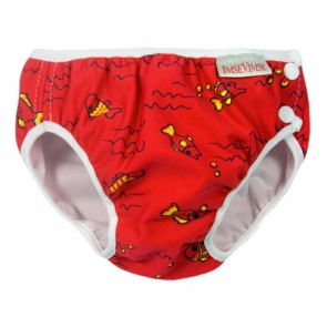 Imse Vimse swim nappy Red Fish Junior