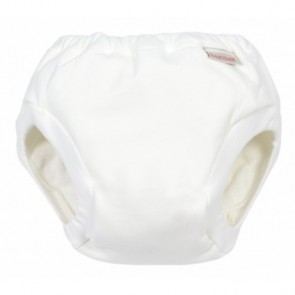 Imse Vimse Organic Training Pants JUNIOR PLUS White