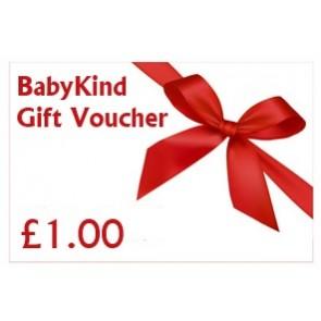 BabyKind Gift Voucher £1