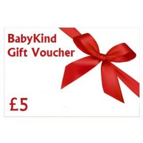 BabyKind Gift Voucher £5