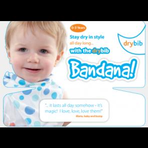 DryBib Bandana Backing Card SINGLE
