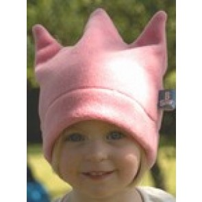 BuggySnuggle Fleece Crown Hat - Candy Pink