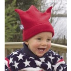 Buggysnuggle Red Crown fleece hat