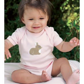 Bunny Babygrow, Bunny Print