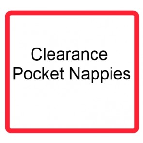 Clearance Pocket Nappies