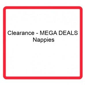 Clearance - MEGA DEALS - Nappies