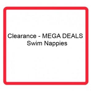Clearance - MEGA DEALS - Swim Nappies