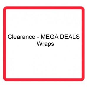 Clearance - MEGA DEALS - Wraps