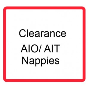 Clearance AIO/AI2 nappies