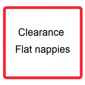 Clearance Flat nappies