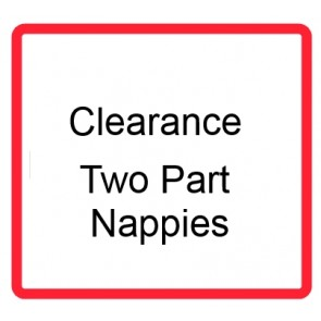 Clearance Two Part Nappies