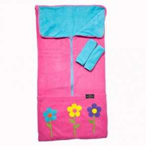 Cozyosko Multifunction Footmuff Pink Stem Flowers