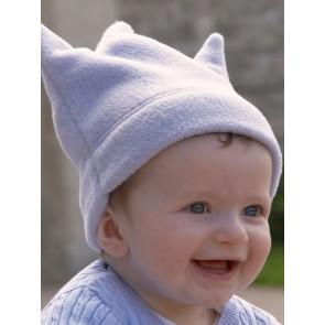 Buggysnuggle Baby Blue Crown fleece hat