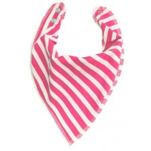 DryBib Bandana Bib - Pink Stripes