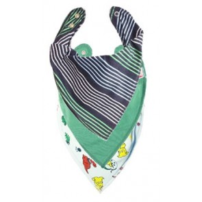 Smart Stripe DryBib Bandana Bib Triple Packs