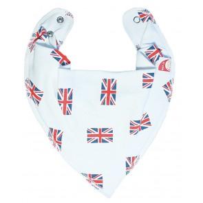 DryBib Bandana Bib - Union Jack