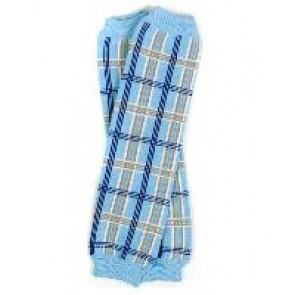 MyLittleLegs - Blue Plaid Leg Warmers