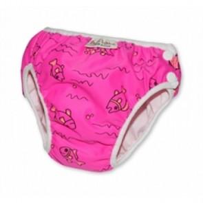 Imse Vimse swim nappy Pink Fish Newborn