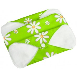 FuzziBunz Re-usable Sanitary Pads green