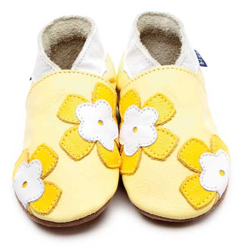 Inch Blue Baby Shoes - Freya Flowers